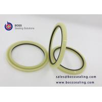 Buy cheap Good quality hydraulic rod buffer seal HBY seal profile PU PA material milk off yellow blue purple color from wholesalers