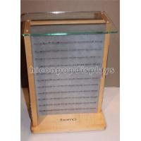 Buy cheap Desktop Wooden Glass Retail Jewelry Display For Fashion Accessories / Earrings from wholesalers