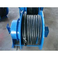 Buy cheap Grounding Retractable Wire Rope Reel , Commercial Hose Reel Heavy Duty from wholesalers