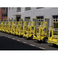 Buy cheap 200kg Rated Load Hydraulic Elevating Platform 10 Meter Trailer Mounted Lift from wholesalers