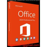 Buy cheap OEM Microsoft Office 2019 Pro Plus / Office 2019 Pro Plus Retail Box Disc Online Activation from wholesalers