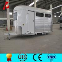 Buy cheap Best sell cheap classic horse trailers,2 horse box trailer sale,galvanized horse trailers from wholesalers