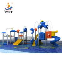 Buy cheap Fun Water Park Playground Equipment , Commercial Inflatable Water Slides from wholesalers