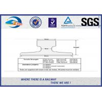 Buy cheap DIN536 Steel Crane Rail Zinc Oxide Black For Railway Material from wholesalers