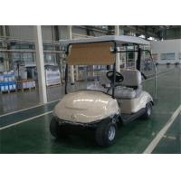 Buy cheap Solar Energy 48V Battery Electrical Golf Carts 2 Seater With 3KW DC Motor from wholesalers