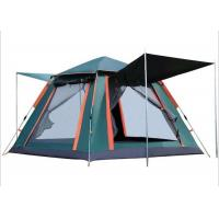 Buy cheap Outdoor Sunproof Water Resistant PU2000MM Coated 210D Polyester Green Automatic Firbreglass Frame Camping Cosy Tent from wholesalers