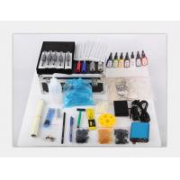 Buy cheap Professional Tattoo Kits 4 Guns Machines 7color Inks Power Supply from wholesalers