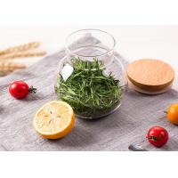 Buy cheap 550ml Glass Food Storage Jars High Borosilicate Glass Unique Shape from wholesalers