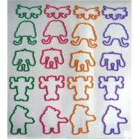 Buy cheap Guaranteed 100% Rubber bands with various design from wholesalers