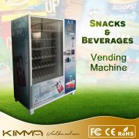 Perfect frozen food / beverage snacks vending machine with coin acceptor Manufactures