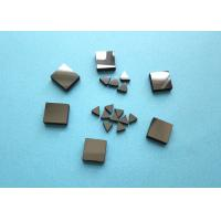 Wholesale Diamond Tips PCD Blanks For Metal , Lathe Machine Smooth Surface PCD Die Blanks from china suppliers