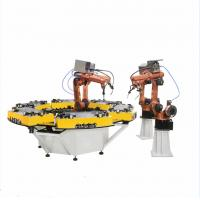 Buy cheap Assembly Line Welding Turntable Robot Positioner Steel Material New Condition from wholesalers