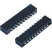 Buy cheap Round Female Pin Headers 1.27MM Pitch Connector DIP 180 Degree For PCB Insert Plate from wholesalers