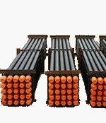 Wholesale Black DTH Drill Pipe 6000mm - 89mm Down The Hole Drilling Tools 2 3/8 API Reg from china suppliers