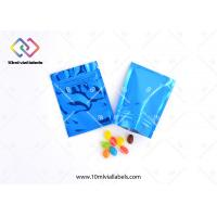 Buy cheap Child Proof Resealable Foil Bags , Foil Packaging Bags For Medicine Pills Tablets And Drugs from wholesalers