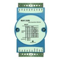 WAYJUN Eight channels thermocouple signal acquisition,blue isolation conversion DIN35