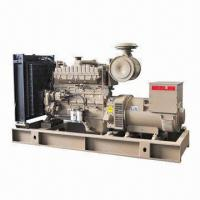 Buy cheap 400kW Cummins Engine Power Generator Set, 159 x159mm Bore x Stroke from wholesalers