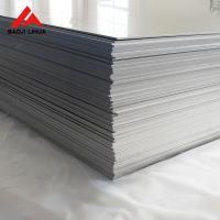 Buy cheap Gr2 Gr5 Flat Titanium Sheet 1000mm 2000mm Pickling Sand Blasting Surface product