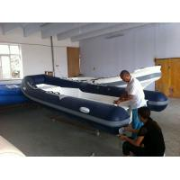 China Hot Sale EC Approved RIB Boat 5m Open Floor RIB Inflatable Boat for 8 Persons/ PVC Hypalon Material RIB Inflatable Boat on sale