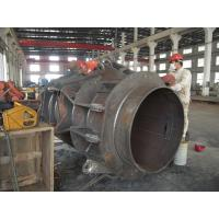 China Power Transmission Customed Carbon Metal Heavy Steel Fabrication , Weldment Marine Crane Spare Parts on sale
