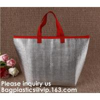Buy cheap Insulated Thermal Non Woven Aluminum Foil Cooler Bag For Frozen Food,Reusable Insulated Aluminum Foil Thermal Lunch Cool from wholesalers