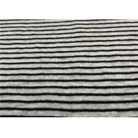 Buy cheap Stripe Linen Jersey Knit Fabric 100% Fine Linen Knitted Jersey Yarn Dyed from wholesalers