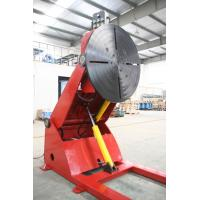 Buy cheap VFD Control 5 Ton Hydraulic Rotary Welding Positioner In Cylinder Welding from wholesalers