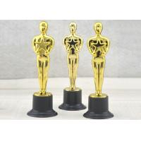 Buy cheap Personalized Plastic Trophy Cup , Kids Plastic Trophies With Oscar Statue from wholesalers