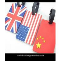 Buy cheap Best Manufacturer Suppliers custom high quality cheap luggage tags for national flag from wholesalers
