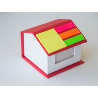 Wholesale House shape box with memo and sticky note from china suppliers