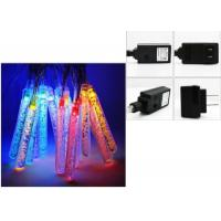 Buy cheap Icicle LED String Lights 220v Multicolor / Warm White Wedding Decorations from wholesalers