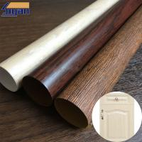 China Indoor PVC Furniture Film Waterproof For Profile Wrapping , 1 Year Warranty on sale