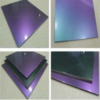 Buy cheap Chameleon PVDF Aluminum Composite Panel For Decoration from wholesalers