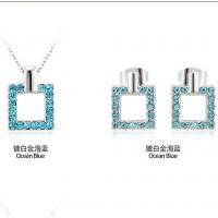 Buy cheap 2014 Jewelry set made with Swarovski elements TJ0082 from wholesalers