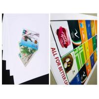 Buy cheap White Offset Printing PVC Core Sheet With Smooth And Uniform Surface from wholesalers