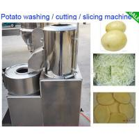 Buy cheap High Effective Small Potato Chips Making Machine / Electric Potato Chip Cutter from wholesalers