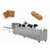 Buy cheap Sesame Nut Crispy Molding Candy Cutting Machine / Puffed Cereal Bar Forming Machine from wholesalers