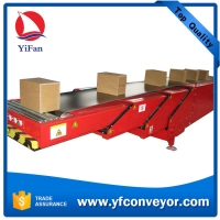 Wholesale 40ft Container Loading Unloading Telescopic Belt Conveyor with Hydraulic Lift from china suppliers