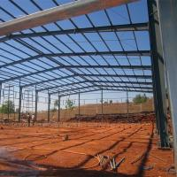 Buy cheap Light Frame Steel Building Construction Warehouse Steel Shade Structure from wholesalers