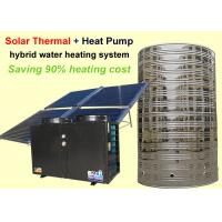 Wholesale Energy Saving Solar Heat Pump Water Heater Corrosion Resistance For Family House from china suppliers