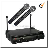 Buy cheap Professional FM UHF Fixed Dual Channel Wireless Microphone (AL-SE2019) from wholesalers
