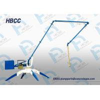 Buy cheap 13M 15M 17M Mobile Spider Concrete Placing Boom manual concrete boom placer from wholesalers