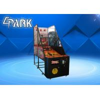 Buy cheap Amusement Adult Arcade Basketball Game Machine Coin Operated Metal Material from wholesalers