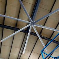 Buy cheap 4900mm 16 Foot Ceiling Fan , HVLS Large Indoor Ceiling Fans For Public Space from wholesalers