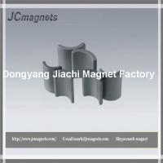 Arc Shaped Hard Sintered Hard Ferrite Magnet