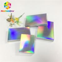 Buy cheap Fleixble Packaging Custom Printed Paper Boxes Luxury Gift Hologram Paper Card from wholesalers