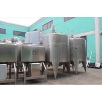 Spherical Mixing Stainless Steel Tanks , Sanitary Manhole Tank Containers Beverage Equip Manufactures