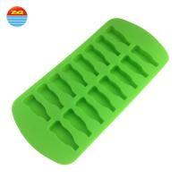 Buy cheap Water Bottle Shape Silicone Ice Trays For Ice Pudding / Biscuit Cake from wholesalers