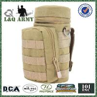 Military water pouch bottle shaped