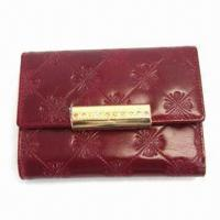 Buy cheap 12.5 x 9cm Women's Wallet, Customized Designs and Logos are Accepted from wholesalers